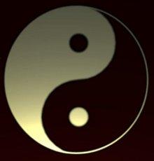 yin-yang meditáció