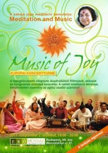 Music of joy koncert és meditáció