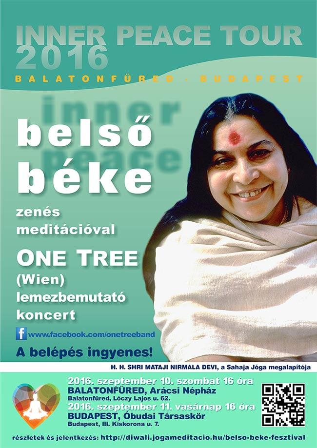 Belső béke meditációs fesztivál