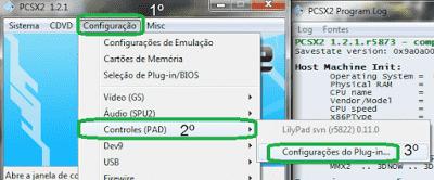 Imagem Configurando Joystick