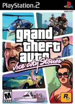 Capa Grand Theft Auto Vice City Stories PS2