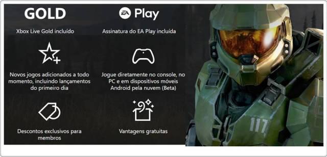 Xbox games pass, xbox live gold, ea play e novos jogos