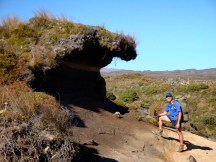 And there it was: Tongariro National Park's own Big Wave Cafe! (or should that be Big Dune Cafe?)