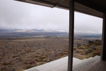 The view from Rangipo Hut. I'd love to spend a few days here in winter (when it's white with snow).