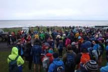 The start of the 32km run and 18km walk. The 18km run and 6km run and walk started later.