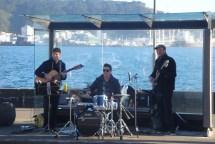 Jazzy entertainment around the bays.