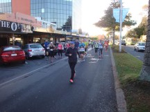 The first incline as you run down along Rotorua's main streets.