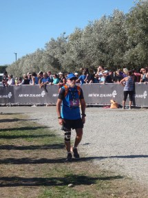 Graeme just after he finished.