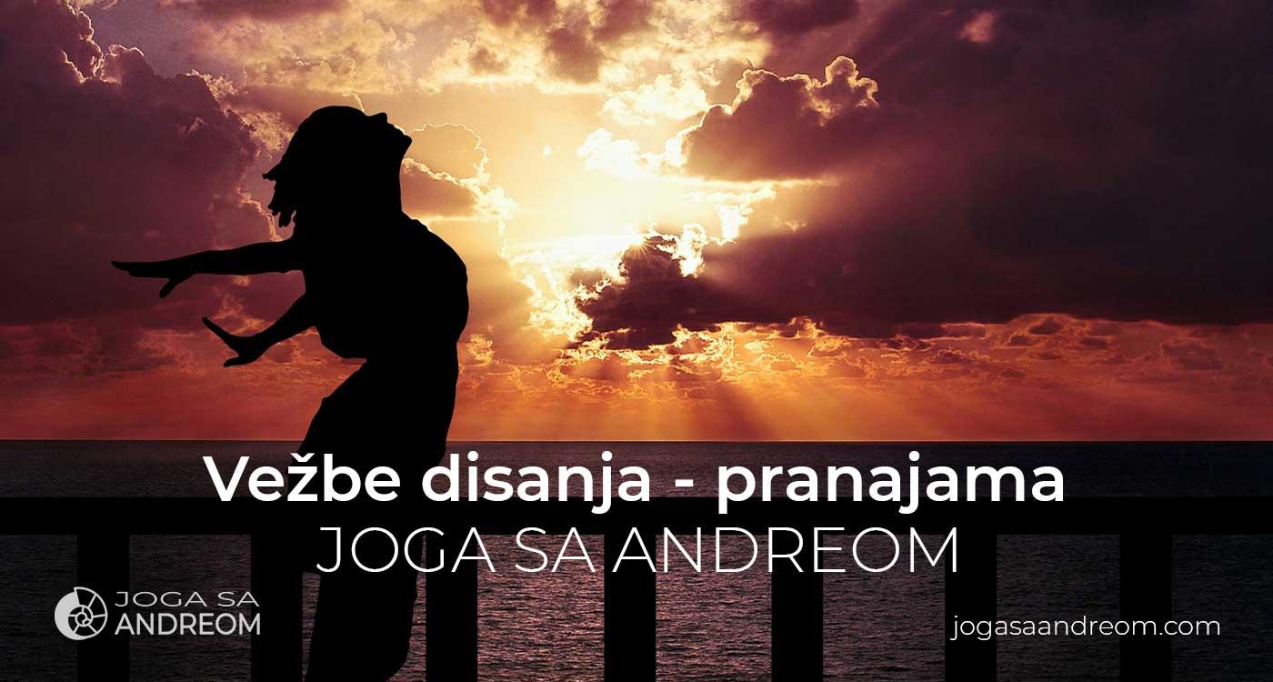 Vežbe i tehnike disanja u jogi - pranajama   Joga sa Andreom