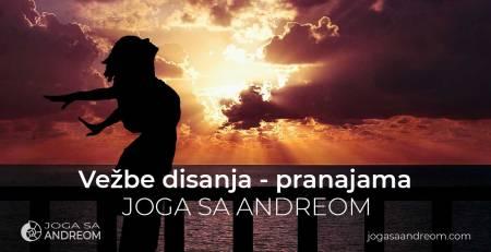 Vežbe i tehnike disanja u jogi - pranajama | Joga sa Andreom