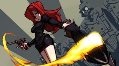 A princesa de Canopy Kingdom, Parasoul, é lider dos Black Egrets e sua mãe foi uma Skullgirl que quase destruiu o mundo.