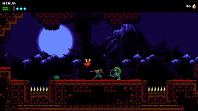 The Messenger - Screen 2