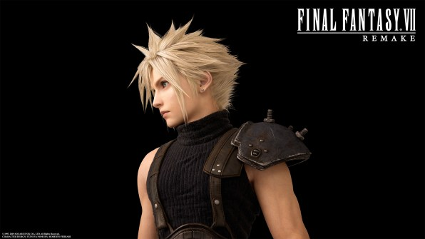 Cloud Final Fantasy VII Character Image