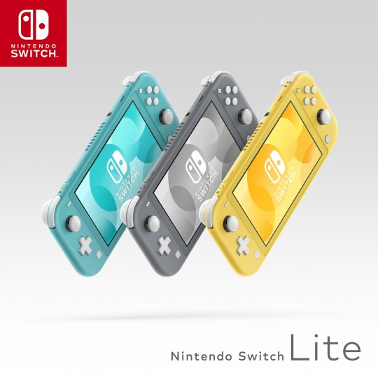 Nintendo Switch LIte Promo Image 1