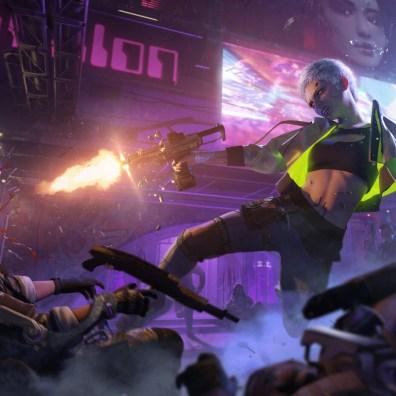 The Witcher x Cyberpunk 3