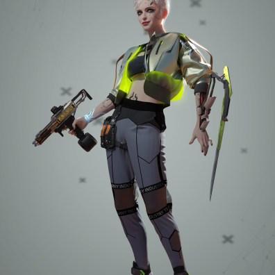 The Witcher x Cyberpunk 5