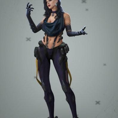 The Witcher x Cyberpunk 9