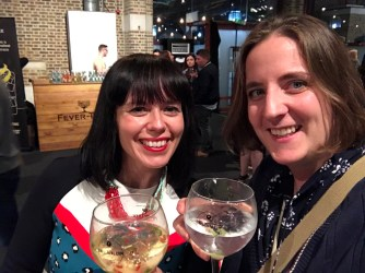 Aforementioned gin festival fun and frolics the evening before