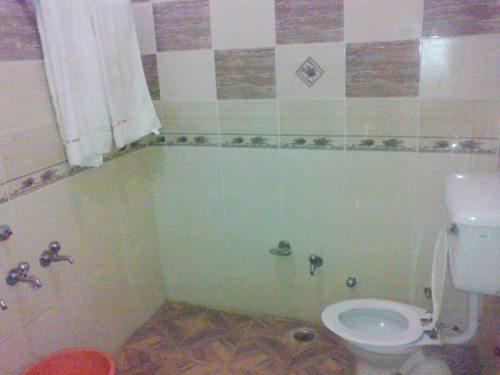 An view of wash room of Hotel City Heart Hotel Joginder Nagar