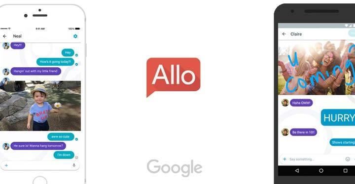 Google Allo एक स्मार्ट मोबाइल मैसेजिंग एप्लिकेशन जो व्हाट्सएप्प को टक्कर देगा (Google Allo going to be a whatsapp competitor)