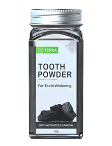 Terrabrush - Happy Mouth Happy Earth Activated Charcoal Powder