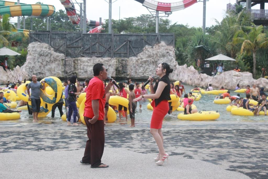 Padusan 'bareng' Uut Selly di Jogja Bay Waterpark
