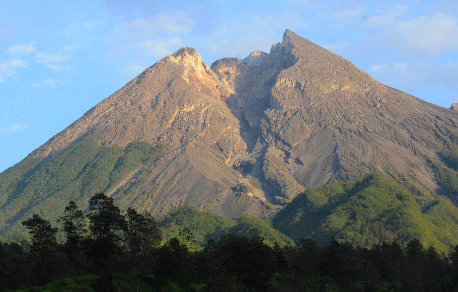 Aktivitas Gunung Merapi Meningkat, BPBD Klaten Siagakan Petugas di Pos Balerante