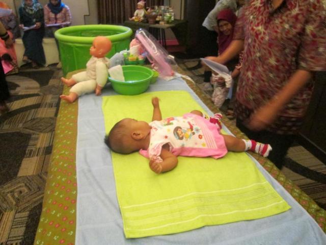 Dokumentasi Pelatihan Mom and Baby Spa Agustus 2015 1