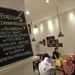 tempat ngopi alamat Tirana Art House and Kitchen
