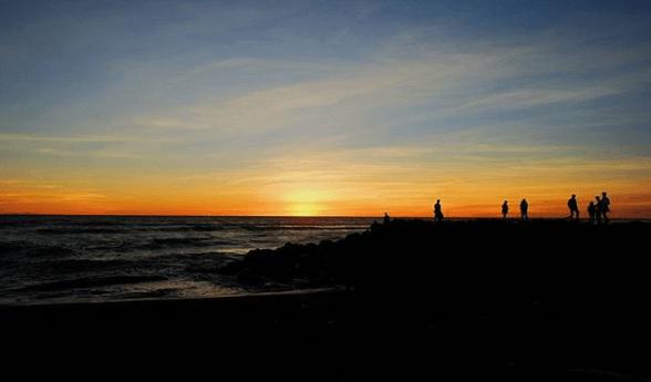 sunset pantai congot kulon progo