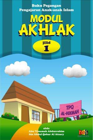Jual Buku Modul Akhlak Jilid 1, Buku Pegangan Pengajaran Anak-anak TPA