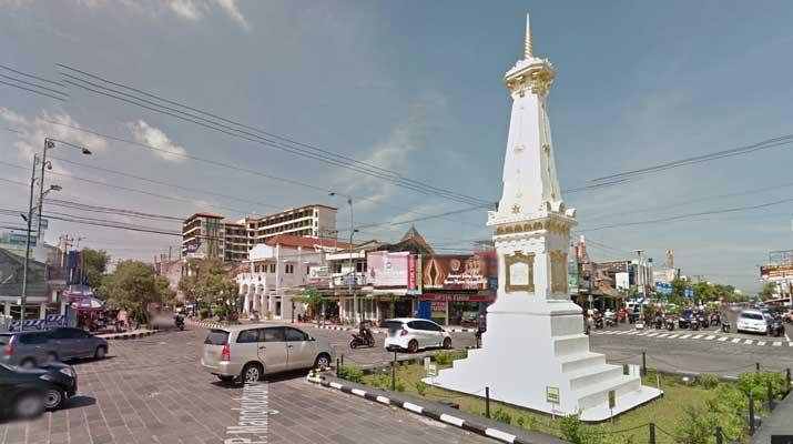 Tugu Jogja di Jogjakarta
