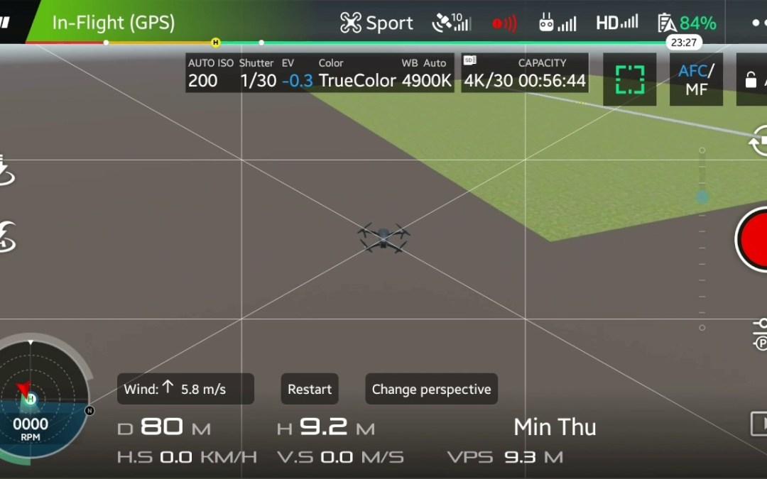 Mematikan Motor Mavic Pro Saat Mid-Air