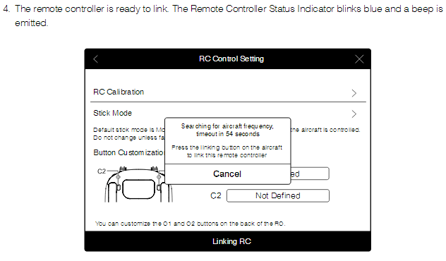 Linking the Remote Controller
