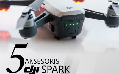 5 Aksesoris Terbaik DJI Spark