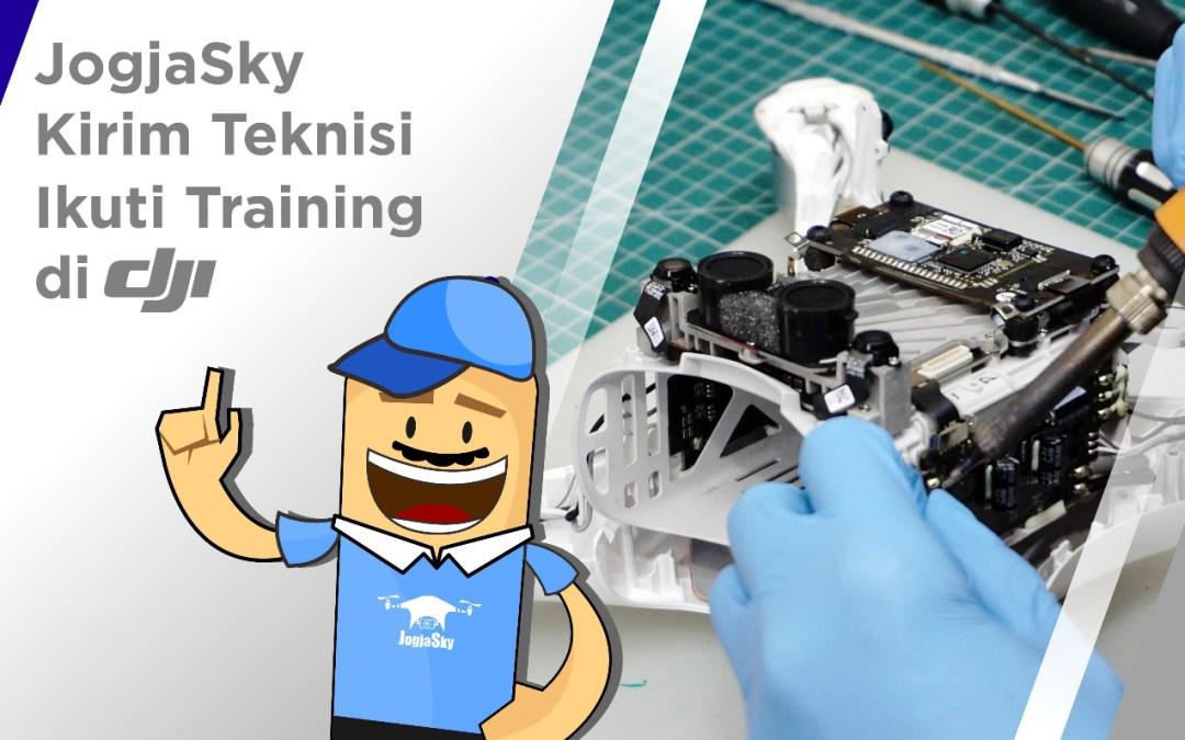 Teknisi Ikuti training di DJI