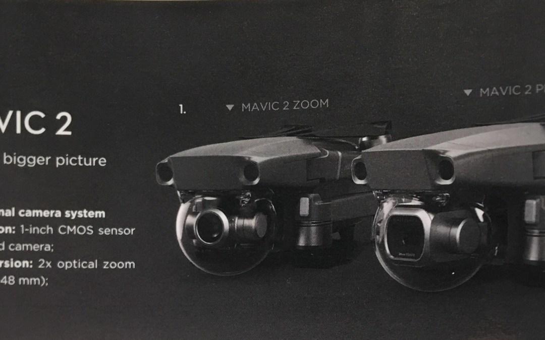 "Bocoran Terbaru Drone DJI Mavic 2: Ada Versi ""Pro"" dan ""Zoom"""
