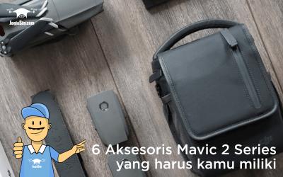 6 Aksesoris DJI Mavic 2 Series yang Harus Kamu Miliki
