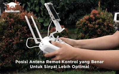 Posisi Antena Remot Kontrol yang Benar Untuk Sinyal Lebih Optimal