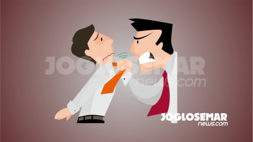 ilustrasijs kekerasan marah