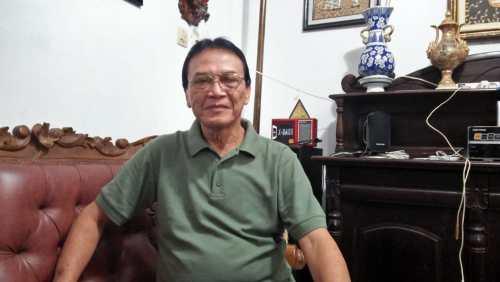 Ketua Persatuan Pedalangan Indonesia Pepadi Solo Prof. Dr. Sarwanto MS. S.Kar . M.Hum