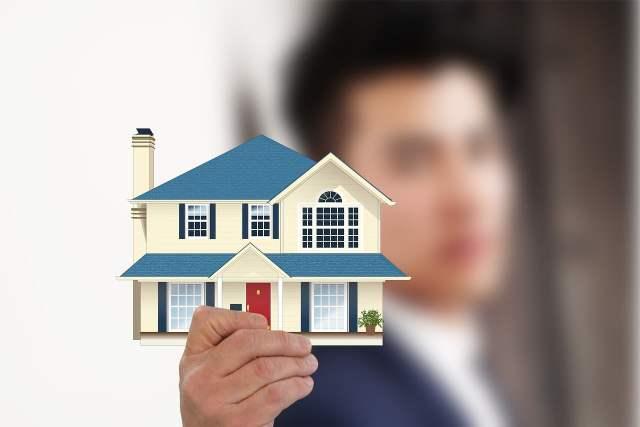ilustrsi beli rumah perumahan