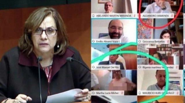 senator meksiko telanjang saat zoom meeting bahas virus corona1
