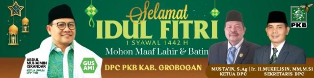 Iklan idul Fitri 2021 1442H PKB GROBOGAN