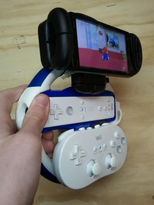 Gambiarra Para Ligar Joysticks De Wii No Celular Com