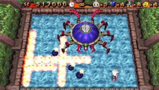 Image result for Bomberman PSP