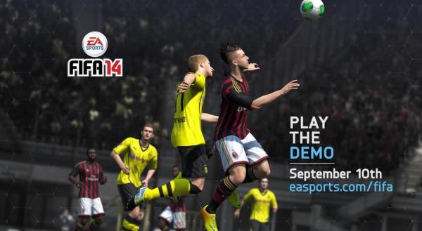 FIFA 14 demo twitter image