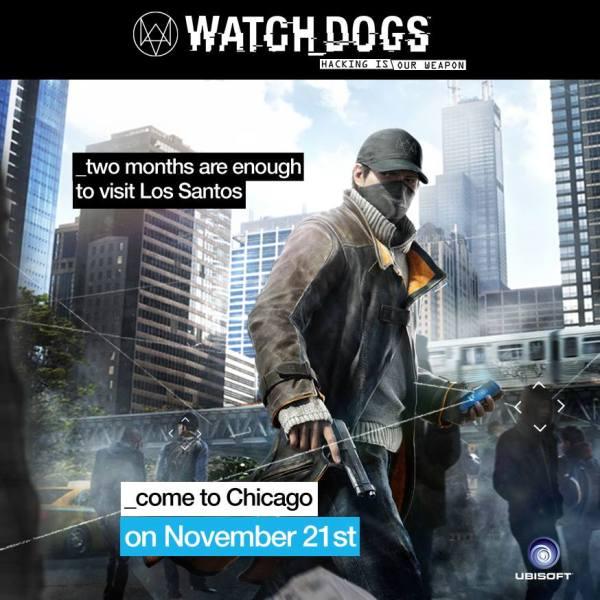 Watch Dogs Chicago Los Santos