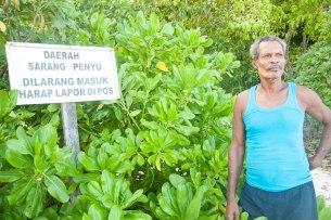 Tete Irisa, si penyelamat Penyu dari Pulau Venu