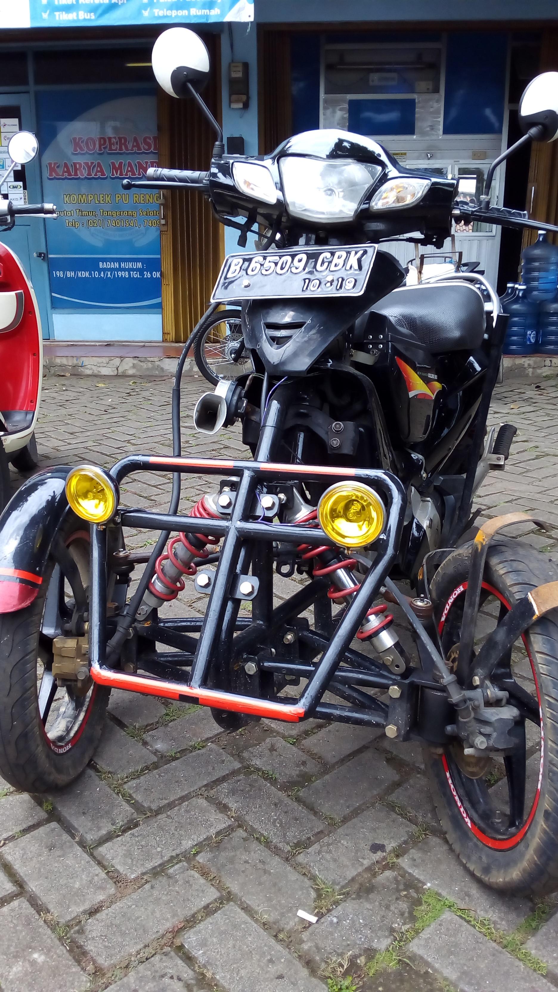 80 Foto Modifikasi Motor Roda Empat Teamodifikasi
